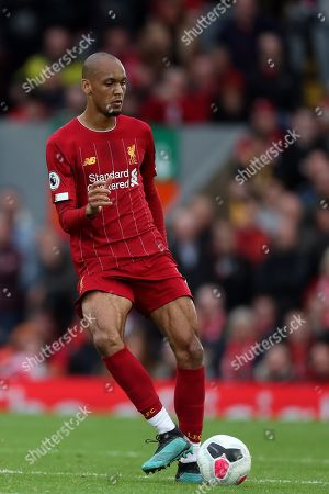 Stock Picture of Fabinho of Liverpool