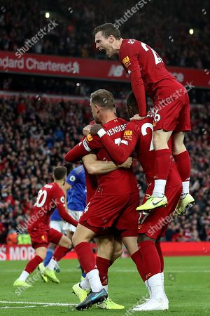 Editorial photo of Liverpool v Leicester City, Premier League, Football, Anfield, Liverpool, UK - 05 Oct 2019
