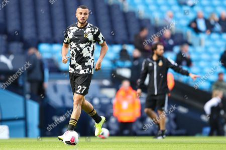 Romain Saiss of Wolverhampton Wanderers during the warm up