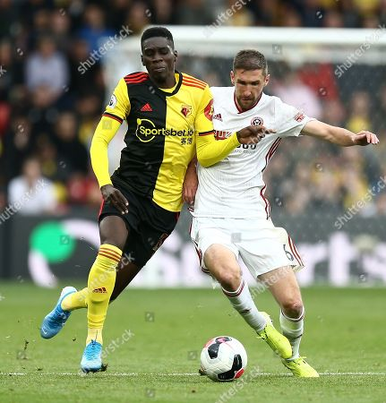 Editorial picture of Watford v Sheffield United, Premier League, Football, Vicarage Road, Watford, UK - 05 Oct 2019