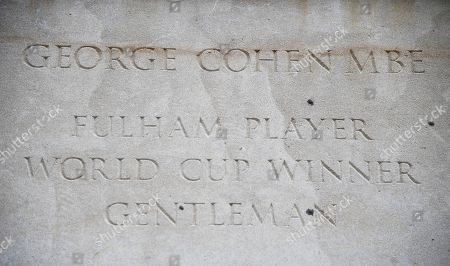 The George Cohen statue