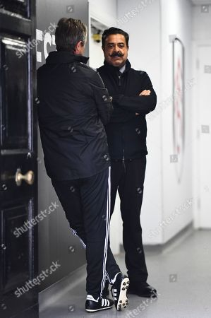 Fulham Chairman and owner Shahid Khan