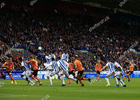 Kamil Grosicki of Hull City takes a free kick