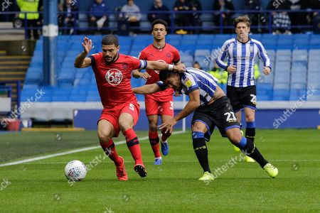 Editorial photo of Sheffield Wednesday v Wigan Athletic, EFL Sky Bet Championship, Football, Hillsborough Stadium, Sheffield, UK - 05 Oct 2019