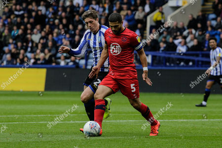 5th October 2019, Hillsborough, Sheffield, England; Sky Bet Championship, Sheffield Wednesday v Wigan Athletic : Sam Morsy of Wigan on the ball