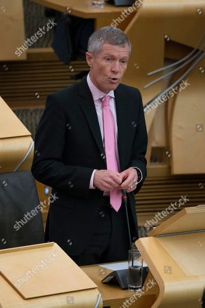 Editorial picture of Scottish Parliament First Minister's Questions, The Scottish Parliament, Edinburgh, Scotland, UK - 03 October 2019