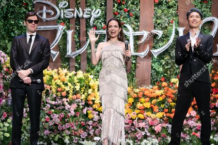 Sam Riley, Angelina Jolie and Miyavi