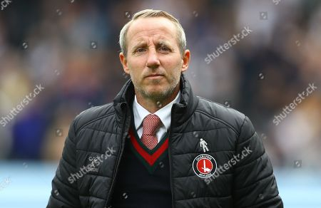 Manager Lee Bowyer of Charlton Athletic