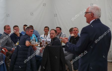 Fulham fans enjoy the q&a with Kit Symons and Chris Coleman
