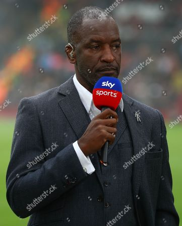 Chris Powell working for Sky Sports