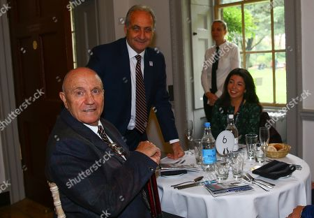 Fulham legends Les Strong and George Cohen MBE at Fulham Palace