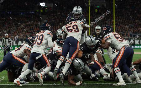 Editorial picture of Chicago Bears v Oakland Raiders, NFL, American Football, Tottenham Hotspur Stadium, London, UK - 06 Oct 2019