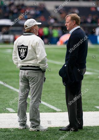 Editorial image of Chicago Bears v Oakland Raiders, NFL, American Football, Tottenham Hotspur Stadium, London, UK - 06 Oct 2019