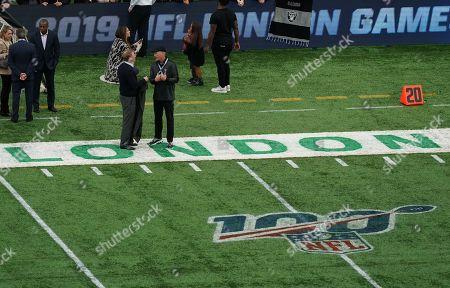 Editorial photo of Chicago Bears v Oakland Raiders, NFL, American Football, Tottenham Hotspur Stadium, London, UK - 06 Oct 2019