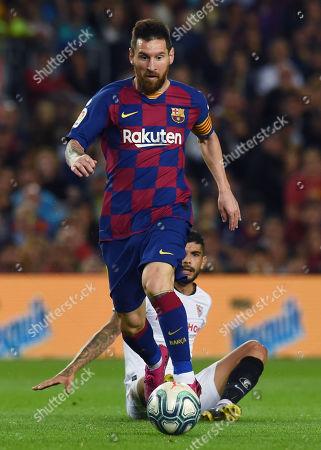 Editorial photo of Barcelona v Sevilla, La Liga, Football, Camp Nou, Spain - 06 Oct 2019