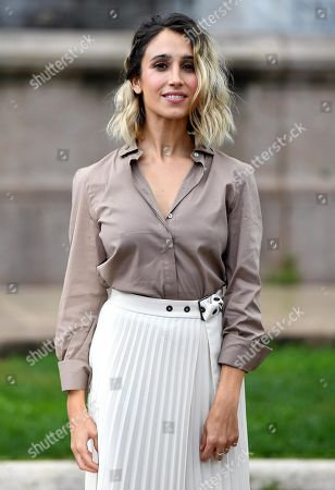 Silvia D'Amico poses during a photo call for the movie 'Brave ragazze' in Rome, Italy, 03 October 2019. The film will be shown Italian movie theaters from 10 October 2019 on.