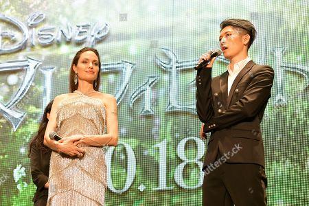 Angelina Jolie and Miyavi