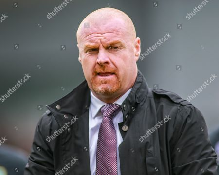 5th October 2019, Turf Moor, Burnley, England; Premier League, Burnley v Everton : Sean Dyche manager of Burnley before the game