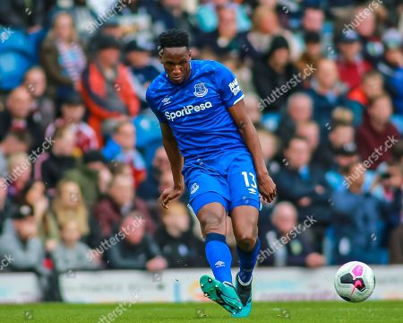 5th October 2019, Turf Moor, Burnley, England; Premier League, Burnley v Everton : Yerry Mina (13) of Everton during the game