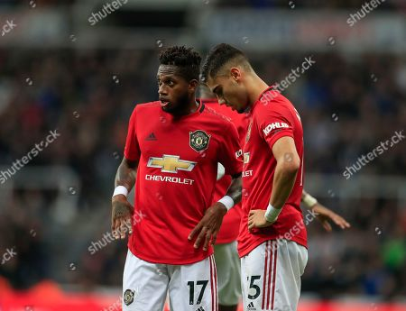 Editorial image of Newcastle United v Manchester United, Premier League, Football, St James' Park, Newcastle upon Tyne, UK - 06 Oct 2019