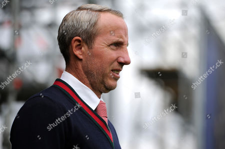 Lee Bowyer of Charlton Athletic prior to the Sky Bet Championship match between Fulham and Charlton Athletic at Craven Cottage in London, UK - 5th October 2019