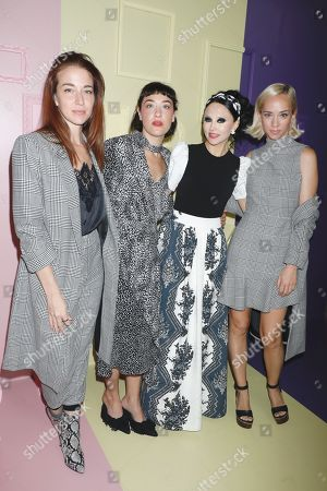 Molly Austin, Mia Moretti, Stacey Bendet and Margot