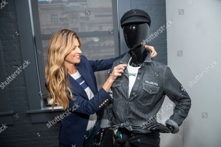 Erin Andrews introducers WEAR, her line of NFL clothing for women, on in New York