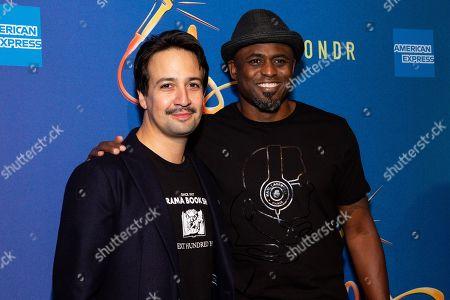 Lin-Manuel Miranda and Wayne Brady