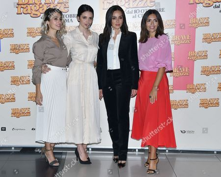 Editorial photo of 'Brave Ragazze' film photocall, Rome, Italy - 03 Oct 2019