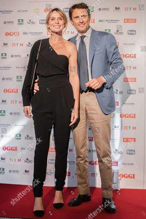 Serena Autieri and Federico