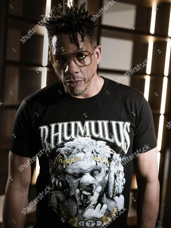 Editorial image of Joeystarr, French rapper, France - 2019