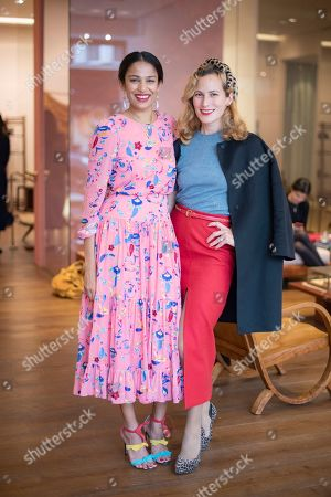 Stock Image of Saloni Lodha and Charlotte Dellal