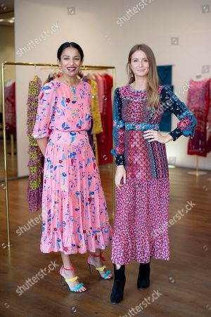 Saloni Lodha and Millie Mackintosh