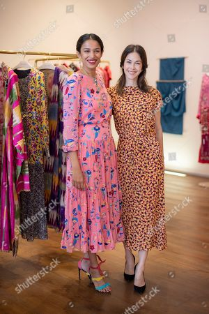 Saloni Lodha and Paula Taylor