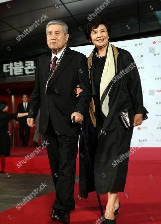 Stock Image of Im Kwon-taek and Chae Ryung