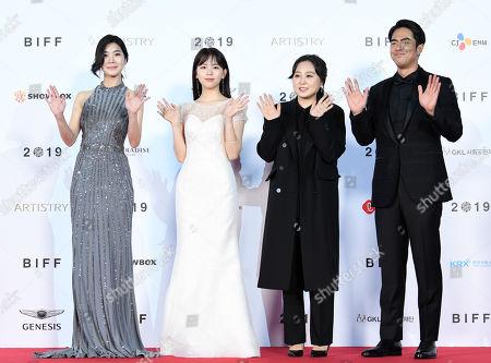 Han Woo-yeon, Jung Da-eun, Park Sun-ju, Jeon Seok-ho