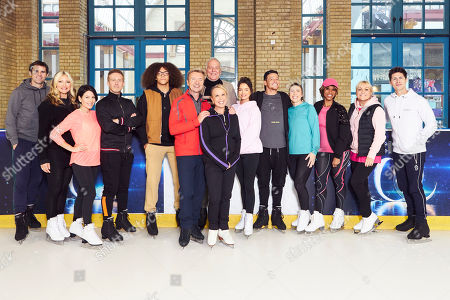 Editorial picture of 'Dancing on Ice' TV show, Series 12, Training, UK - 25 Sep 2019