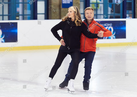 Caprice Bourret and Christopher Dean
