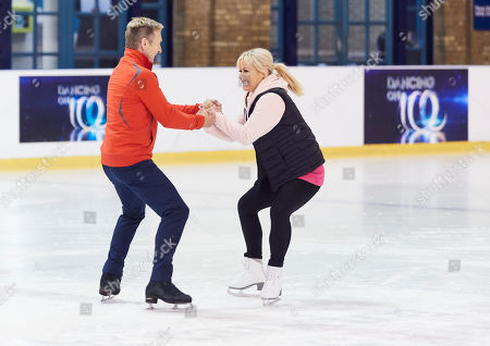 Stock Photo of Lisa George and Christopher Dean