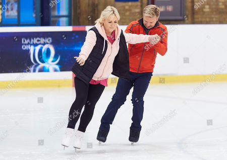 Stock Picture of Lisa George and Christopher Dean