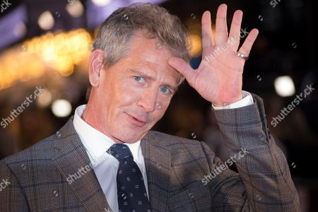 Ben Mendelsohn poses for photographers upon arrival at the premiere of the 'The King' which is screened as part of the London Film Festival, in central London
