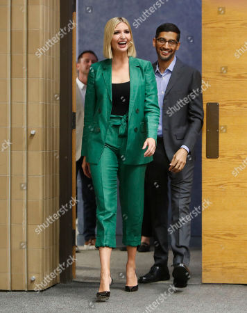 Ivanka Trump, Sundar Pichai. White House senior adviser Ivanka Trump, left, arrives with Google CEO Sundar Pichai for a round table discussion at El Centro College in Dallas,. Pichai announced that Google is committing to a White House initiative designed to get private companies to expand job training for American workers