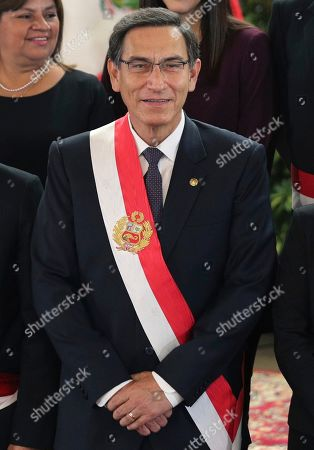 Editorial photo of New Cabinet, Lima, Peru - 03 Oct 2019