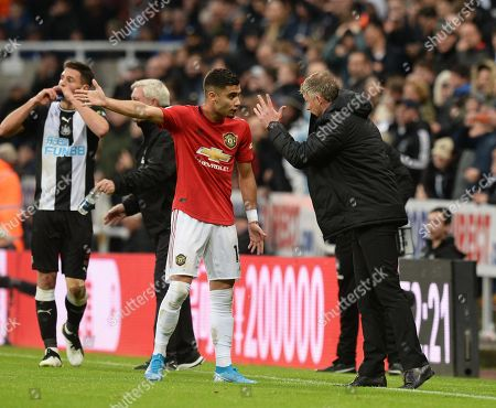 Editorial picture of Newcastle United v Manchester United, Premier League, Football, St James' Park, Newcastle upon Tyne, UK - 6 Oct 2019