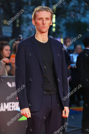 Edward Ashley arrives for the UK Premiere of The King at Odeon Luxe, Leicester Square in London, Britain, 03 October 2019. The 2019 BFI Film Festival runs from 02 to 13 October.