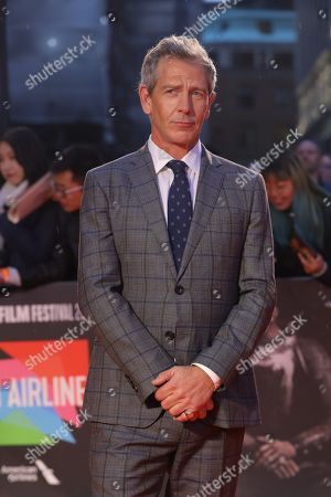 Ben Mendelsohn arrives for the UK Premiere of The King at Odeon Luxe, Leicester Square in London, Britain, 03 October 2019. The 2019 BFI Film Festival runs from 02 to 13 October.