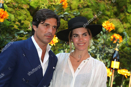 Nacho Figueras and Delfina Blaquier