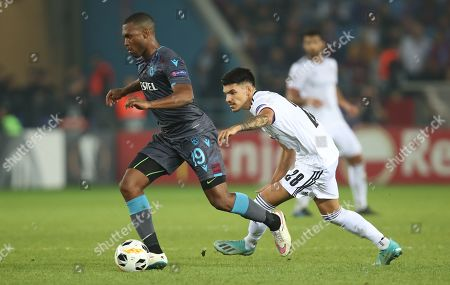 Editorial image of Trabzonspor and Basel, Trabzon, Turkey - 03 Oct 2019