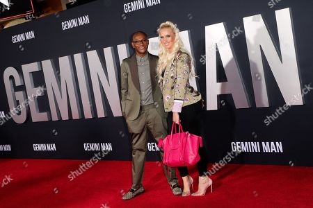 Tommy Davidson and Amanda Moore