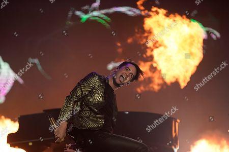 Editorial picture of Rock in Rio, Rio de Janeiro, Brazil - 03 Oct 2019
